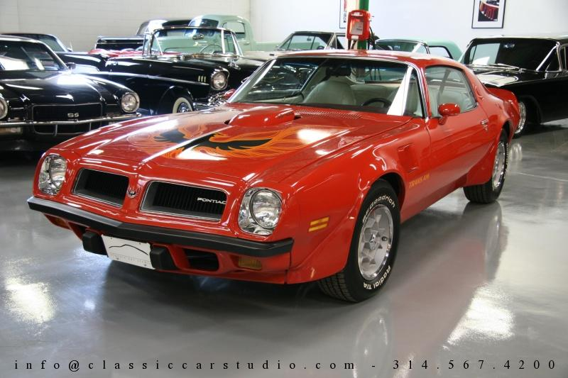 1974 Pontiac Trans Am 455 Super Duty Coupe for Sale: St. Louis ...