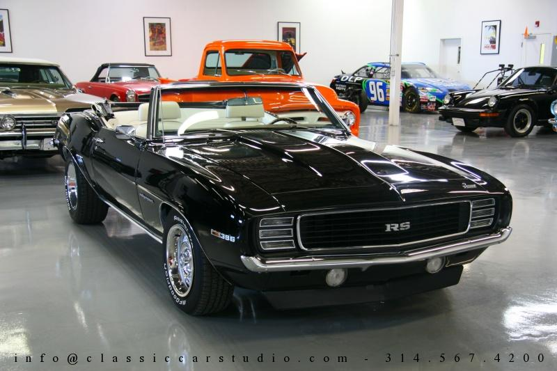 1969 chevrolet camaro rs convertible for sale st louis missouri. Black Bedroom Furniture Sets. Home Design Ideas
