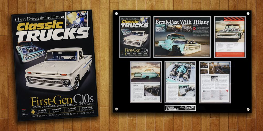 Tiffany – Classic Trucks Magazine Cover