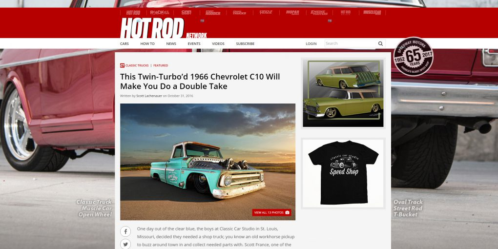 Media Coverage | CCS Speed Shop