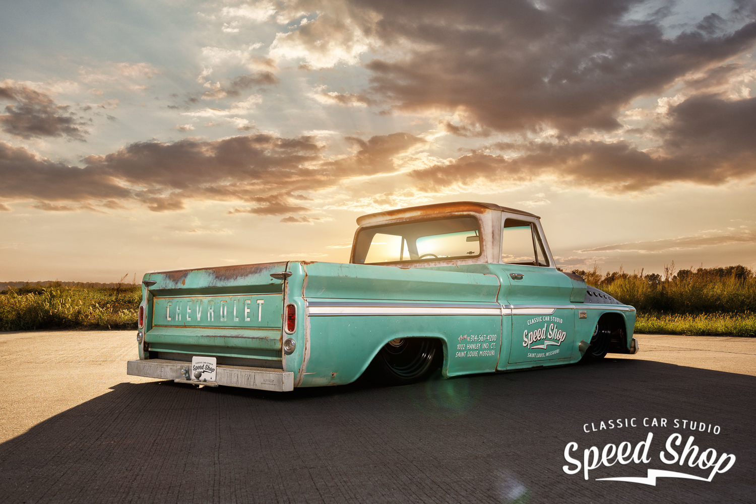 1966 Chevy C10 Shop Truck Ccs Speed Shop