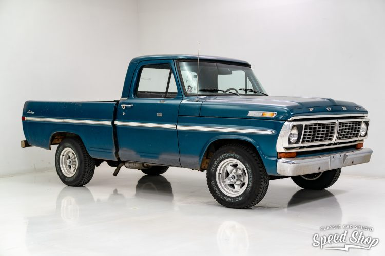 70 Ford F100 - Build Photos-1
