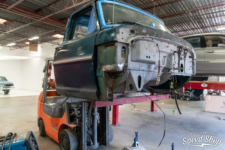70 Ford F100 - Build Photos-104