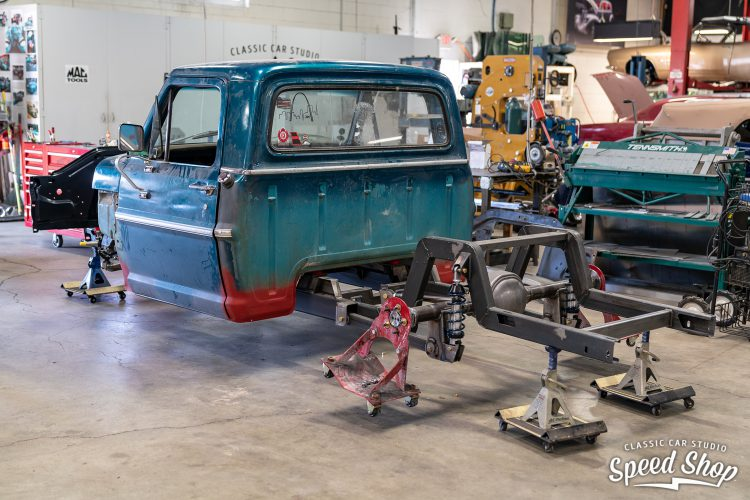 70 Ford F100 - Build Photos-128