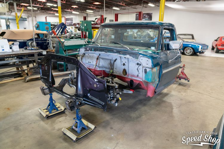70 Ford F100 - Build Photos-129