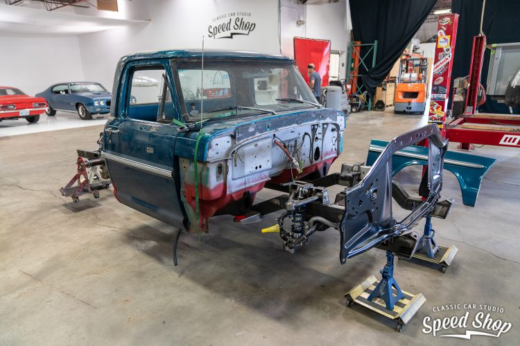 70 Ford F100 - Build Photos-131
