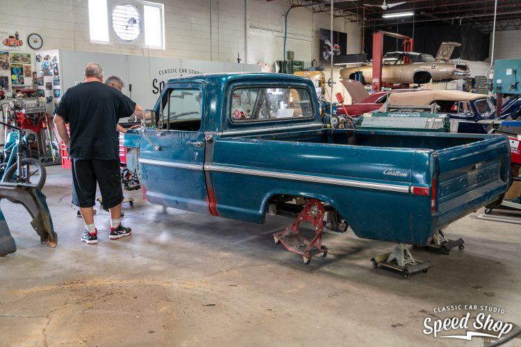 70 Ford F100 - Build Photos-141