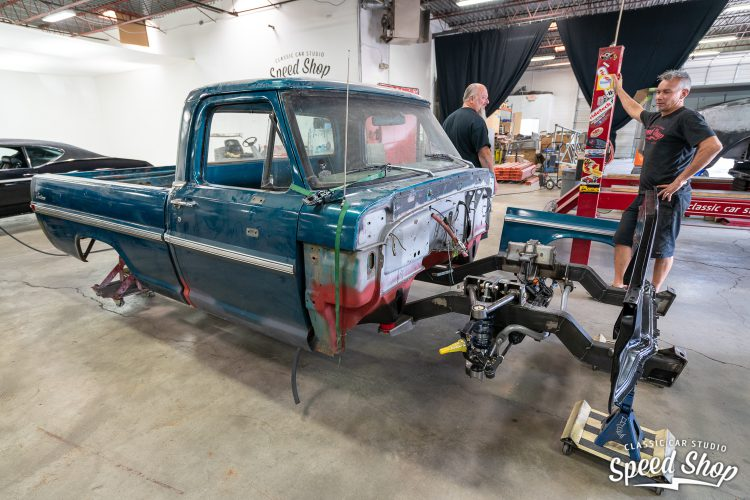 70 Ford F100 - Build Photos-143