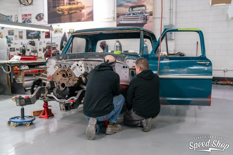 70 Ford F100 - Build Photos-199
