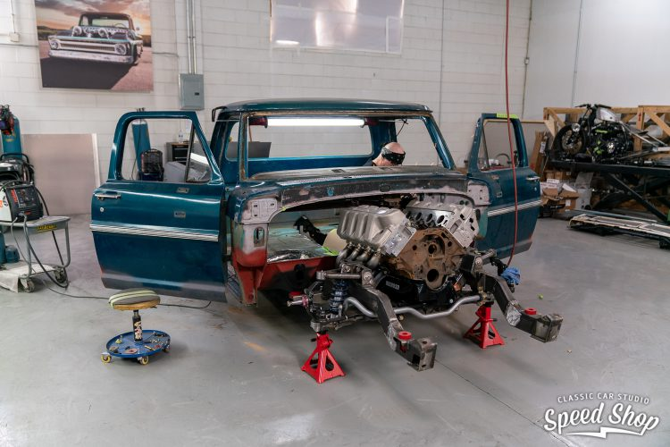 70 Ford F100 - Build Photos-210