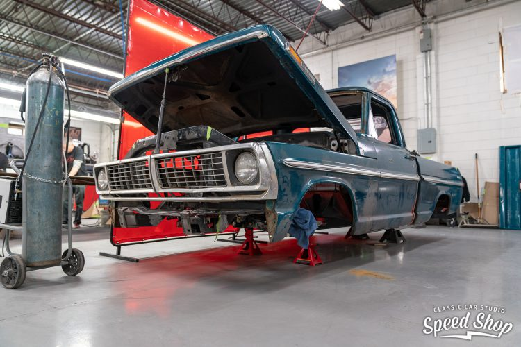 70 Ford F100 - Build Photos-244