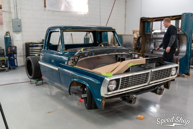 70 Ford F100 - Build Photos-250