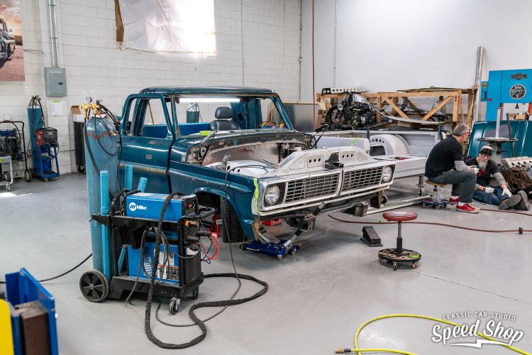 70 Ford F100 - Build Photos-287