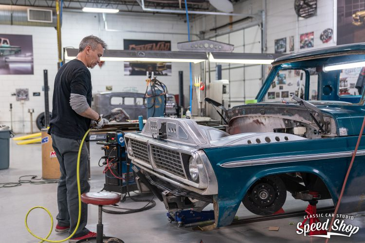 70 Ford F100 - Build Photos-293