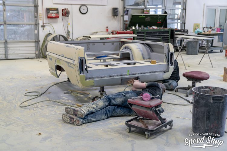 70 Ford F100 - Build Photos-351