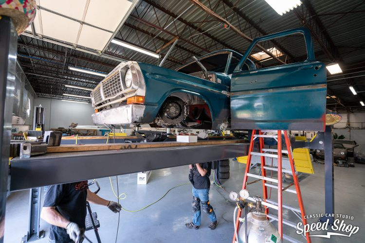 70 Ford F100 - Build Photos-381