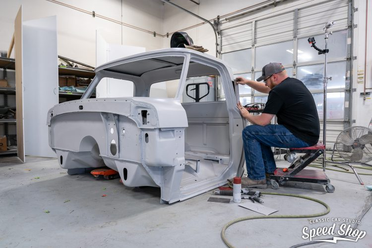 70 Ford F100 - Build Photos-405