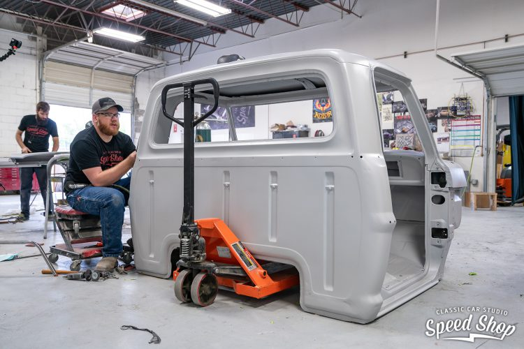 70 Ford F100 - Build Photos-410