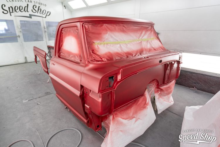 70 Ford F100 - Build Photos-504