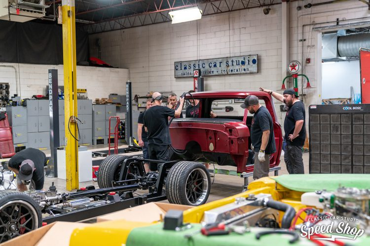 70 Ford F100 - Build Photos-537