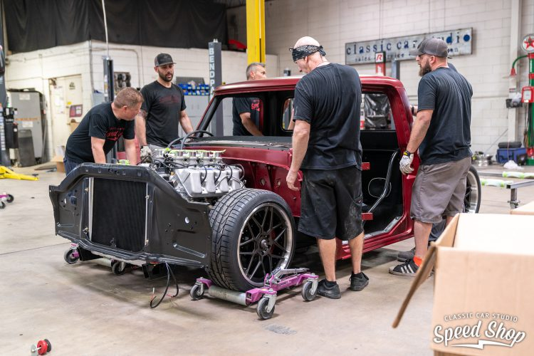 70 Ford F100 - Build Photos-538