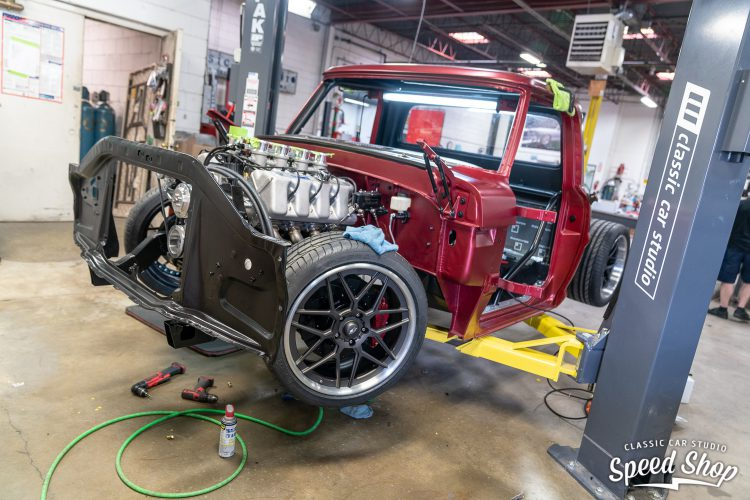 70 Ford F100 - Build Photos-560