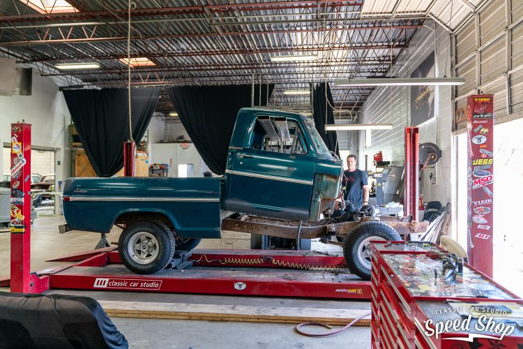70 Ford F100 - Build Photos-93