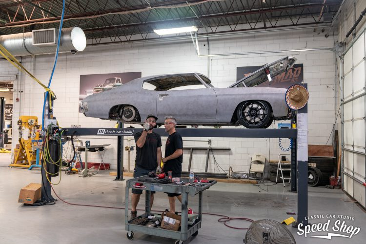 71 Chevelle - Build Photos-276