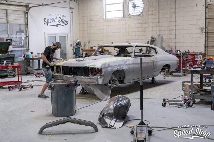 71 Chevelle - Build Photos-301