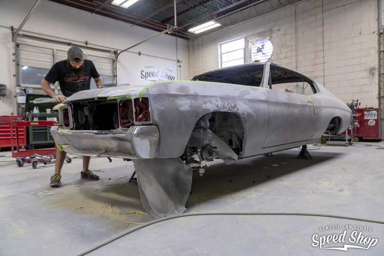 71 Chevelle - Build Photos-303