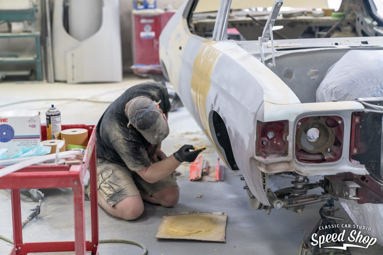 71 Chevelle - Build Photos-330