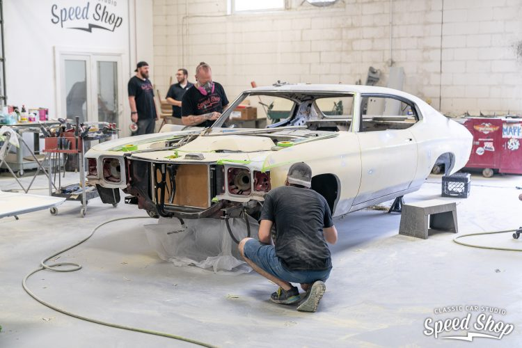 71 Chevelle - Build Photos-342