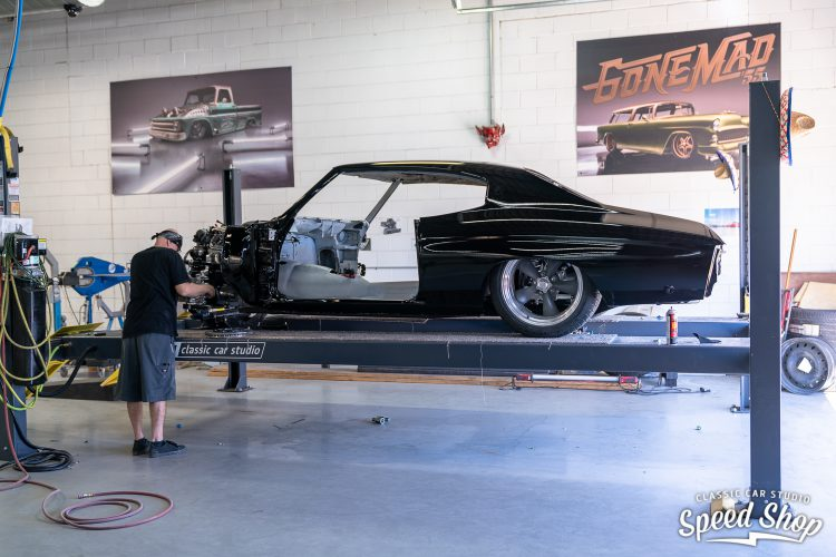 71 Chevelle - Build Photos-377