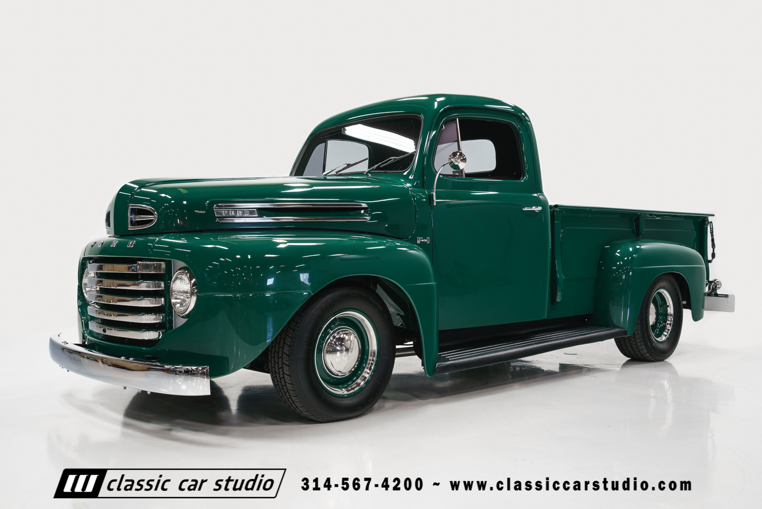Truck Enthusiast >> 1949 Ford F1 Pickup | Classic Car Studio