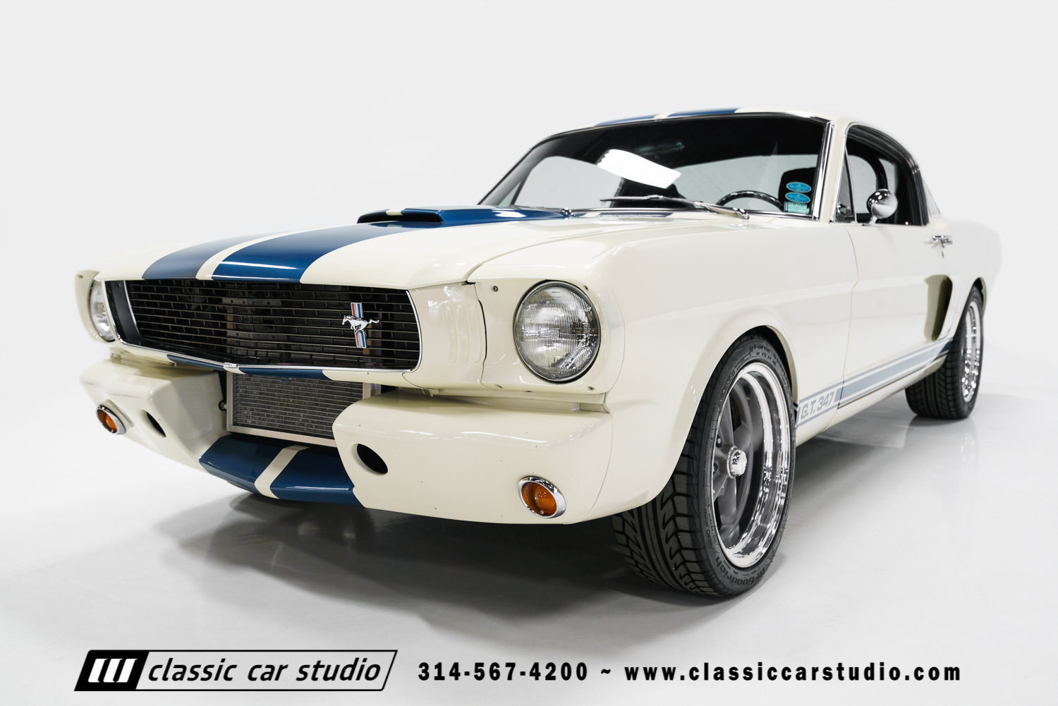 1966 ford mustang gt 347 classic car studio. Black Bedroom Furniture Sets. Home Design Ideas