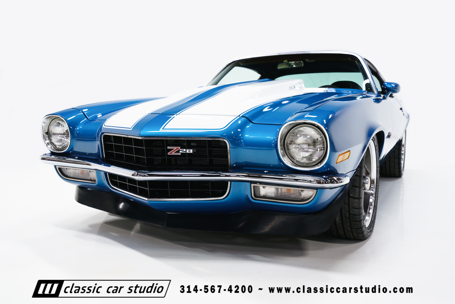 1972 chevrolet camaro classic car studio. Black Bedroom Furniture Sets. Home Design Ideas