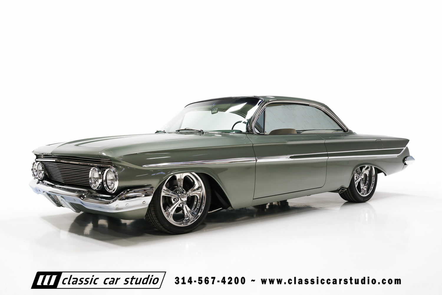 1961 chevrolet impala classic car studio. Black Bedroom Furniture Sets. Home Design Ideas