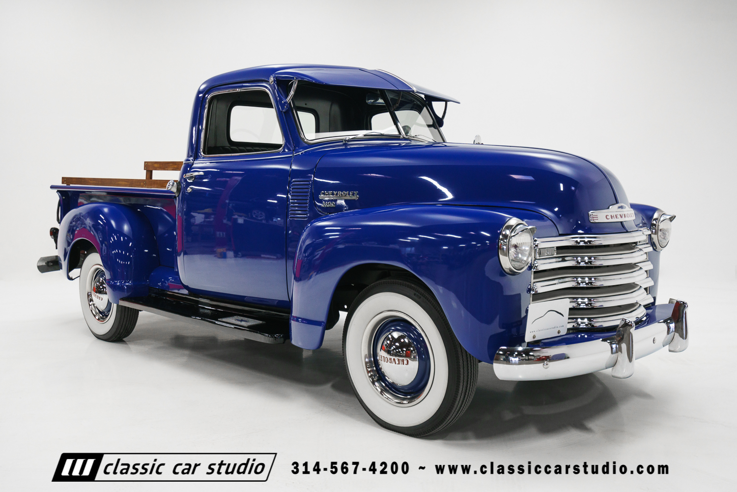 1950 Chevrolet 3100 Pickup Classic Car Studio