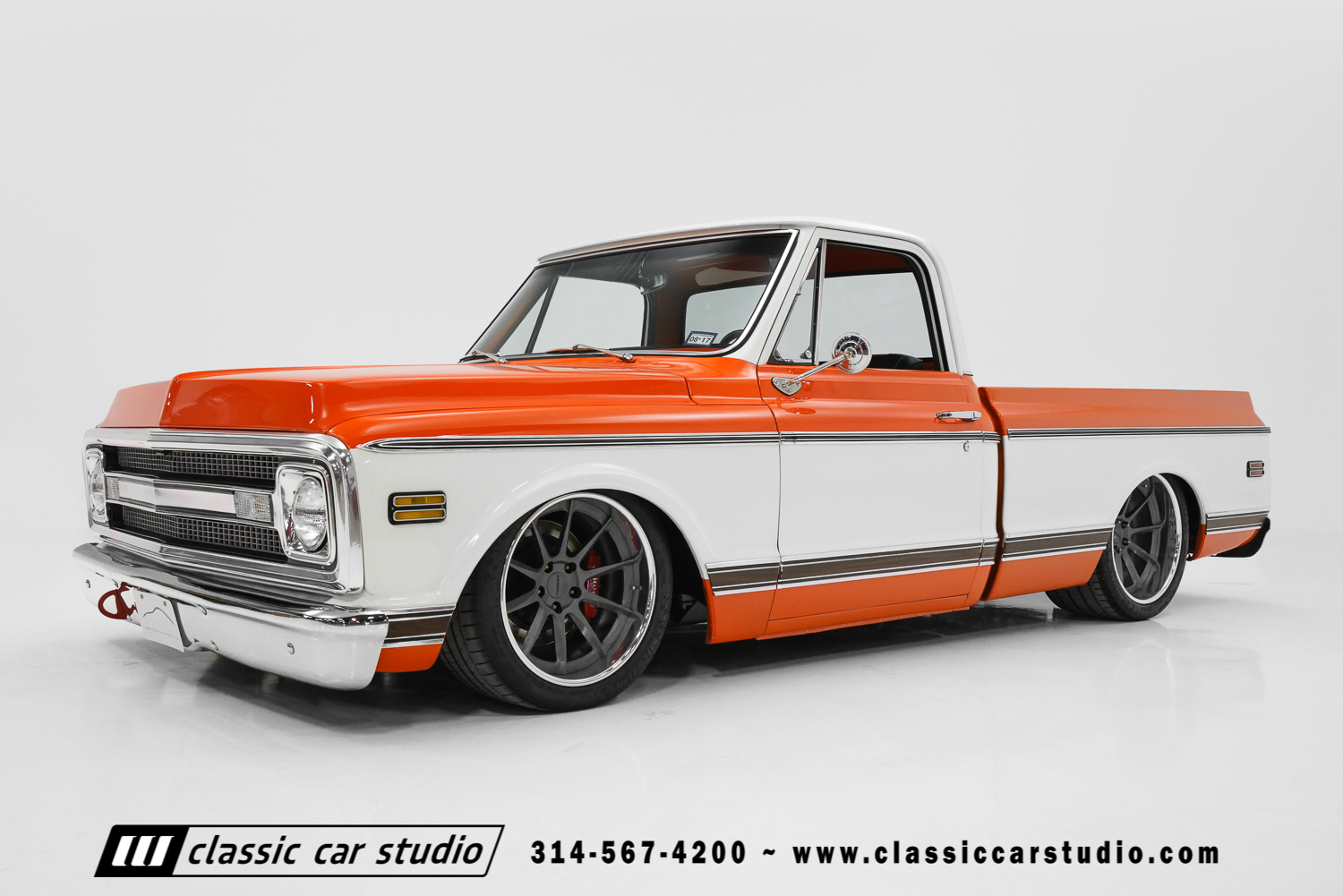 1970 Chevrolet C10 Pro Touring Classic Car Studio 1955 Ford F100 Pick Up St Louis 70 1