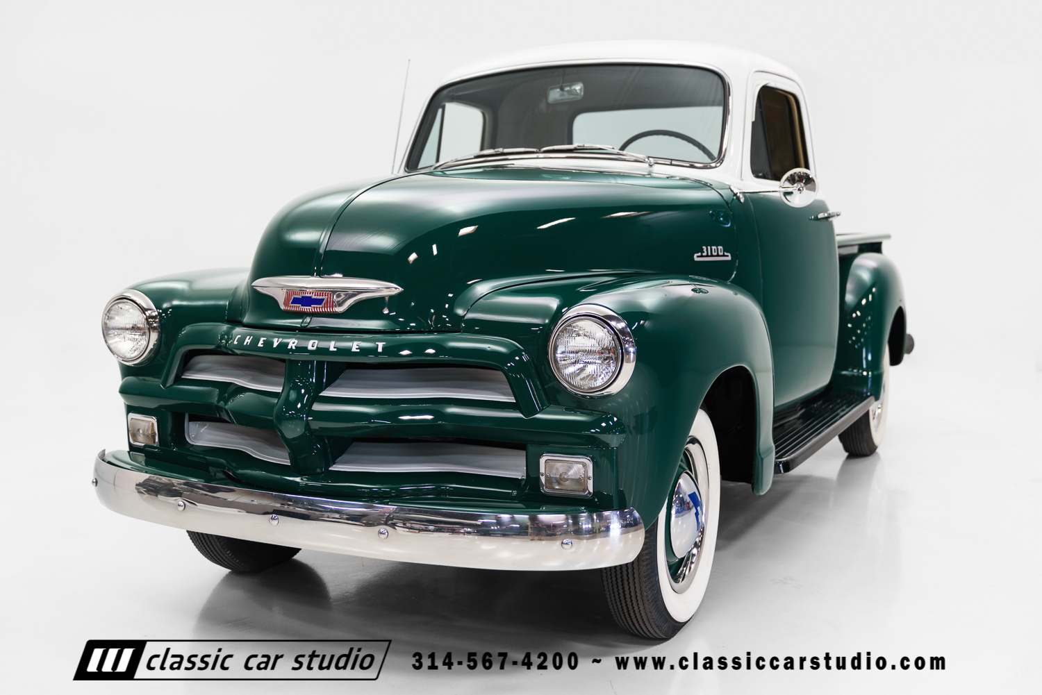 1954 Chevrolet 3100 Classic Car Studio