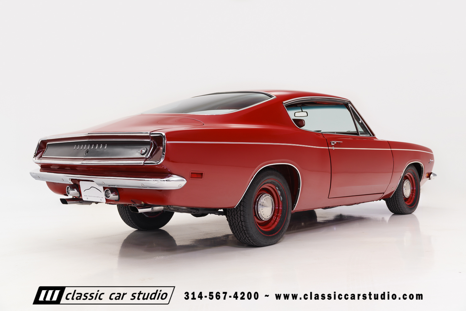 1969 Plymouth Barracuda Classic Car Studio