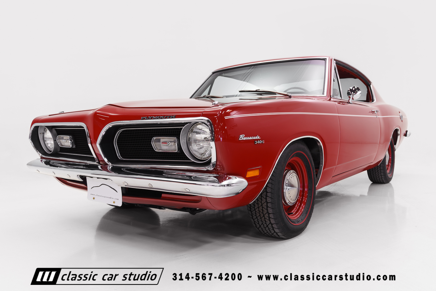 1969 Plymouth Barracuda | Classic Car Studio