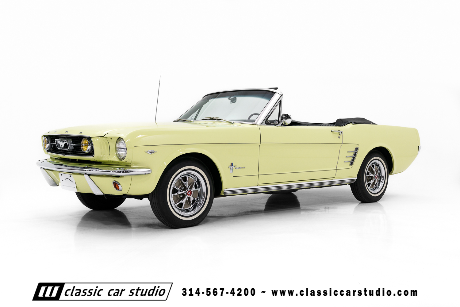 Chevrolet Vin Window Sticker >> 1966 Ford Mustang | Classic Car Studio
