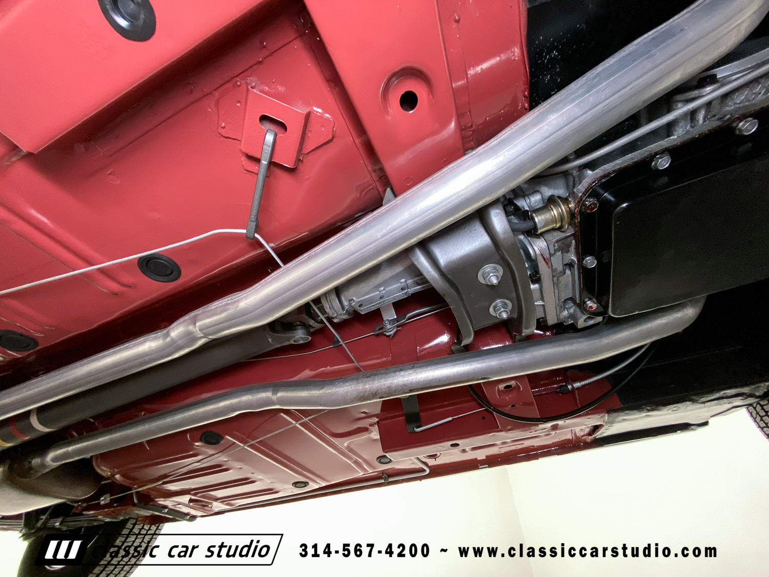 1968 Mustang Undercarriage