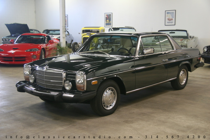 1974 mercedes benz 280 c classic car studio