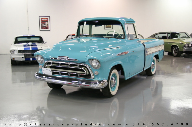 1957 Chevrolet Apache Classic Car Studio