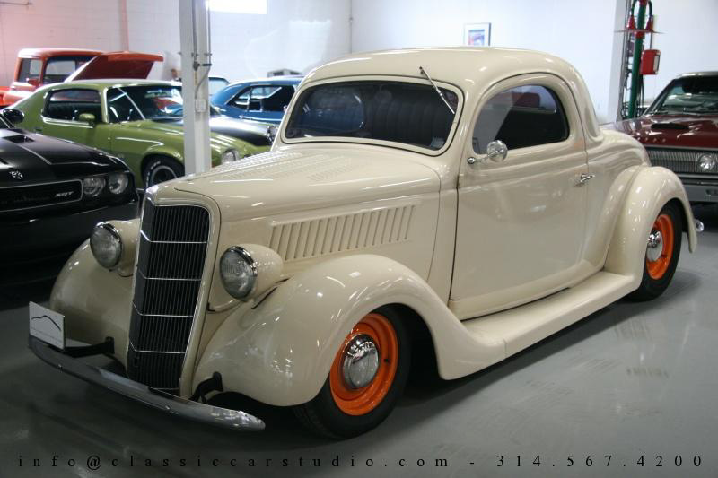 1935 ford 3 window classic car studio for 1935 ford 3 window