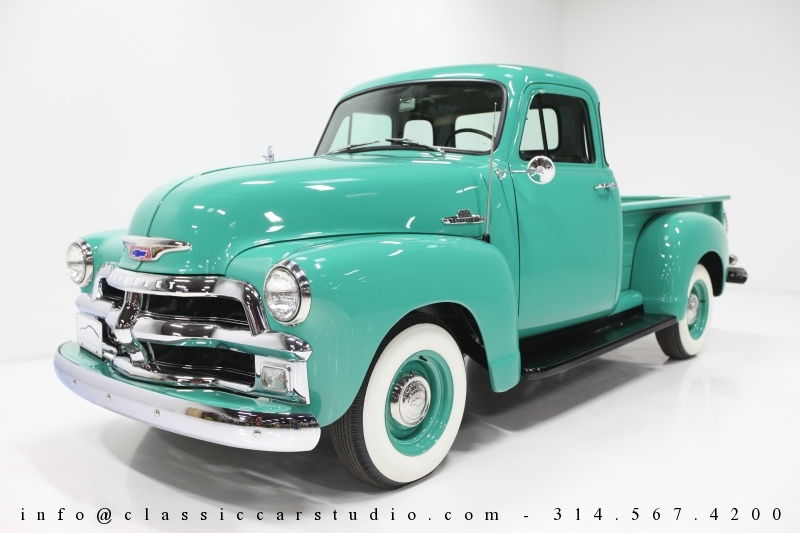 1592 1955 Chevrolet 3100 First Series Pickup Truck