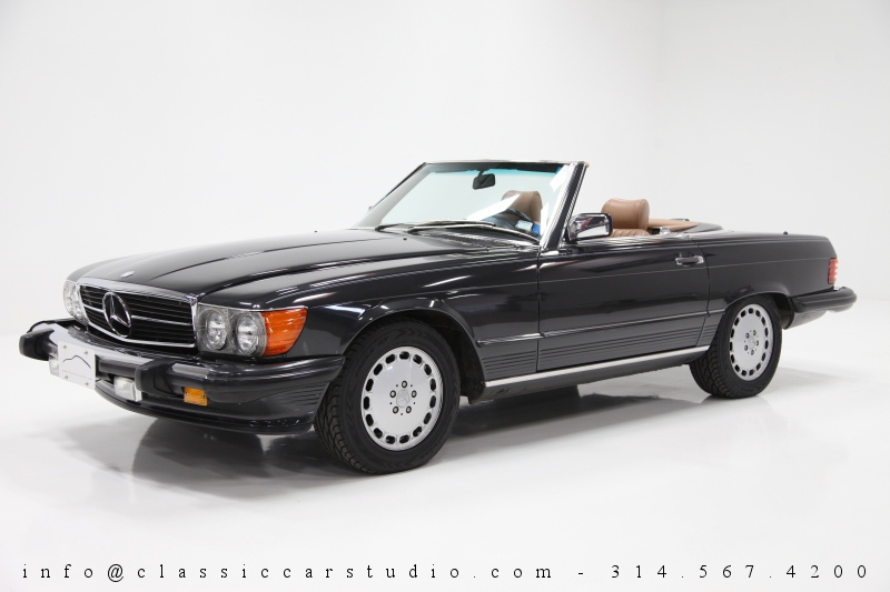 1986 mercedes benz 560 sl classic car studio. Black Bedroom Furniture Sets. Home Design Ideas