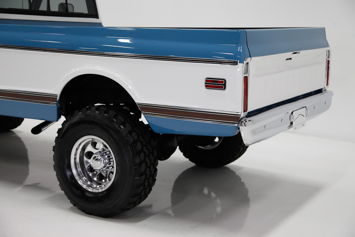 1971 Chevrolet K20 paint job | CCS Speed Shop